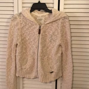 NWT Abercrombie & Fitch zip up sweater